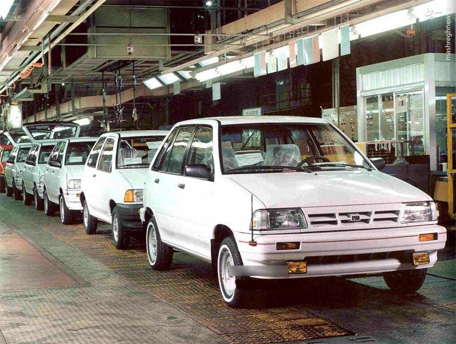 تصویری از خط تولید پراید در کره در حدود 30 سال پیش!! (1988)
