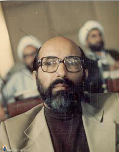 1358/ شهید دکتر مصطفی چمران در مراسم افتتاحیه اولین دوره مجلس شورای اسلامی