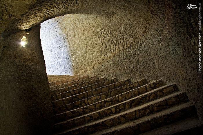Kariz Underground City٬ شهر زیرزمینی کاریز٬ عکس های شهر زیرزمینی کاریز٬ عکس های کاریز در قشم٬ قنات کیش٬ مناطق دیدنی قشم