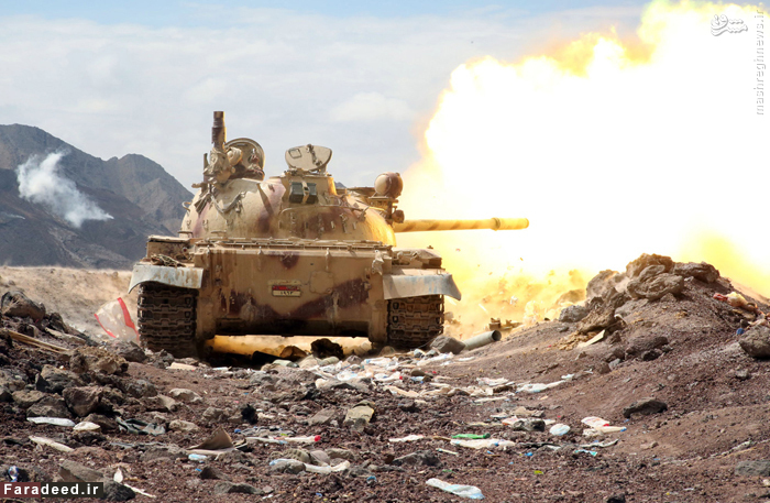شلیک تانک نیروهای