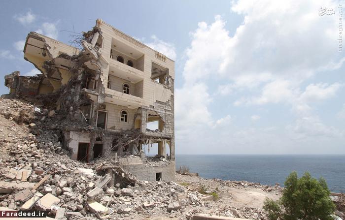 یکی از کاخ های ریاست جمهوری یمن در