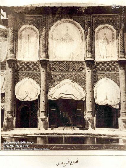 ساختمان قصر باغ وحش واقع در باغ لالهزار