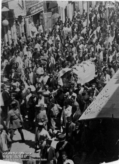 تشییع جنازه عشقی در این خیابان از وقایع سیاسی پس از کودتای سوم حوت