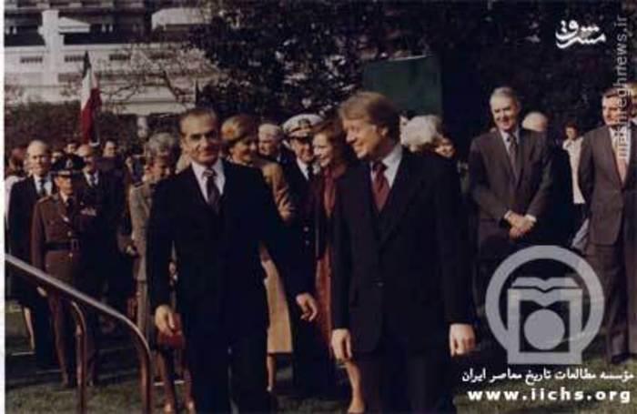 آخرین دیدار رسمی شاه از آمریکا، کارتر و محمدرضا پهلوی