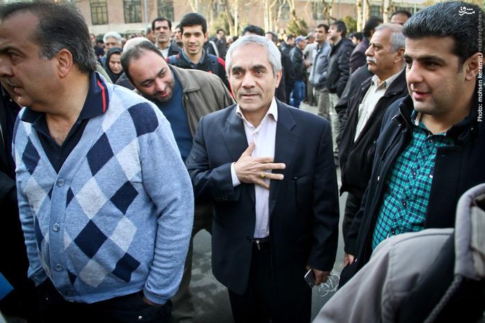 علی اکبر طاهری سرپرست باشگاه پرسپولیس