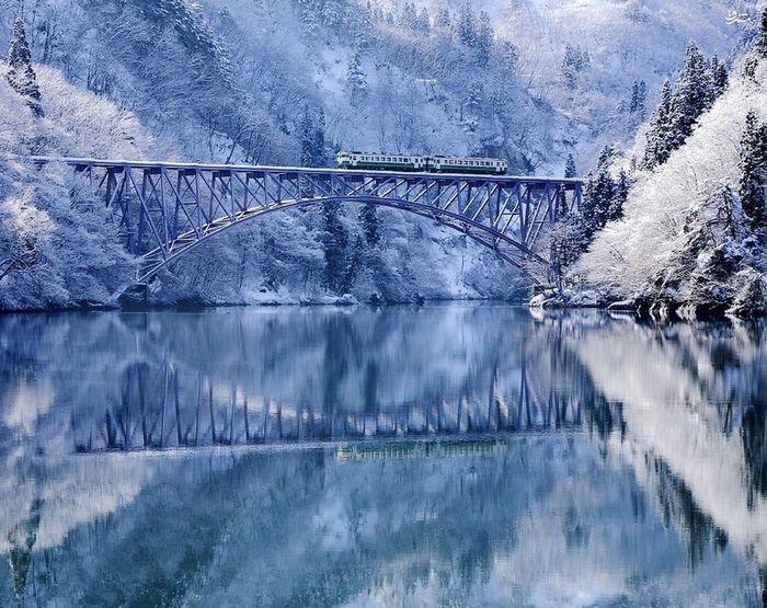 رودخانه Tadami ، ژاپن