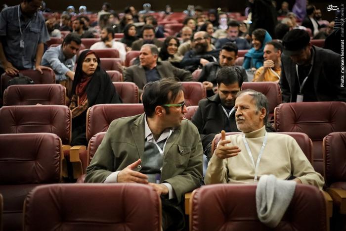 محمدتقی فهیم و علیرضا پورصباغ منتقدان سینما