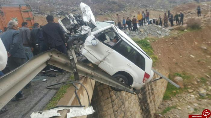 عکس تصادف مرگبار عکس تصادف دلخراش اخبار شیراز اخبار تصادف اخبار بوشهر