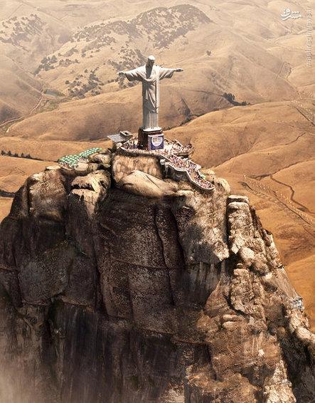 مجسمه عظیم حضرت مسیح _ برزیل