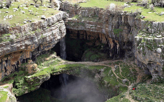 آبشار بتر در لبنان