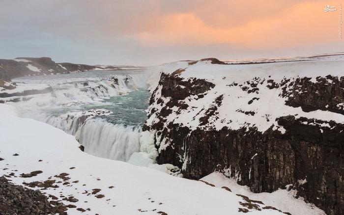 آبشار گلفاس در ایسلند