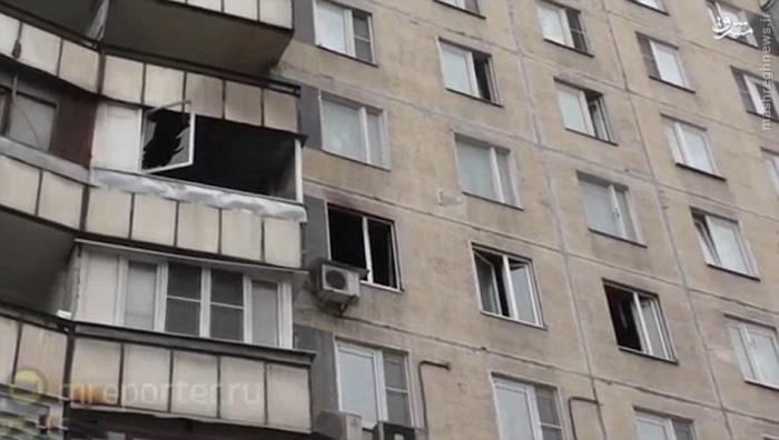 خانه ای که قاتل بعد از جنایت به آتش کشید