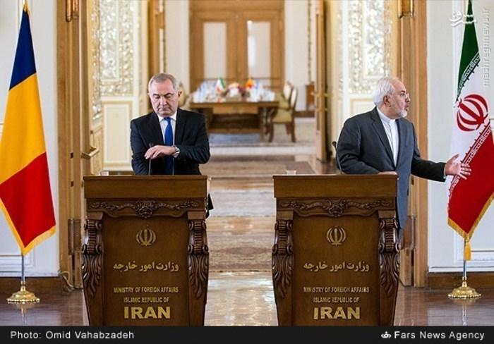 resized 1504144 985 عکس/ دیدار وزرای خارجه ایران و همچنین رومانی
