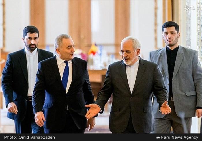 resized 1504147 936 عکس/ دیدار وزرای خارجه ایران و همچنین رومانی