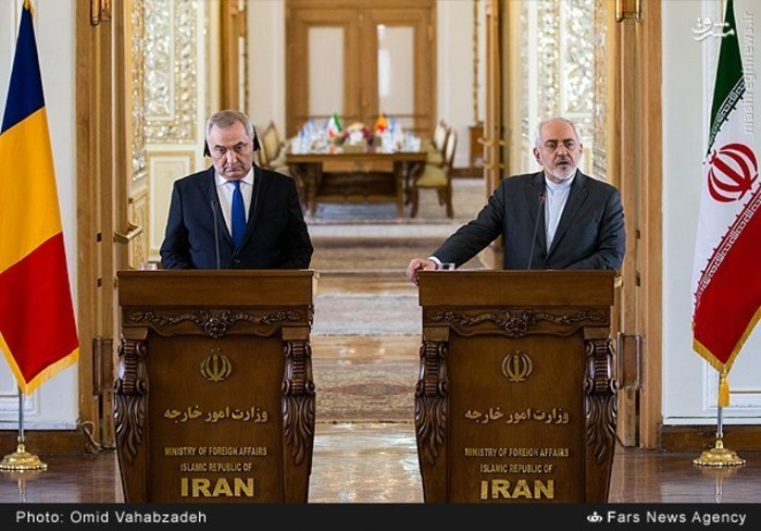 resized 1504148 353 عکس/ دیدار وزرای خارجه ایران و همچنین رومانی