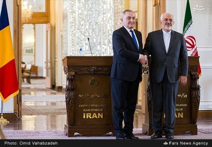 resized 1504152 629 عکس/ دیدار وزرای خارجه ایران و همچنین رومانی