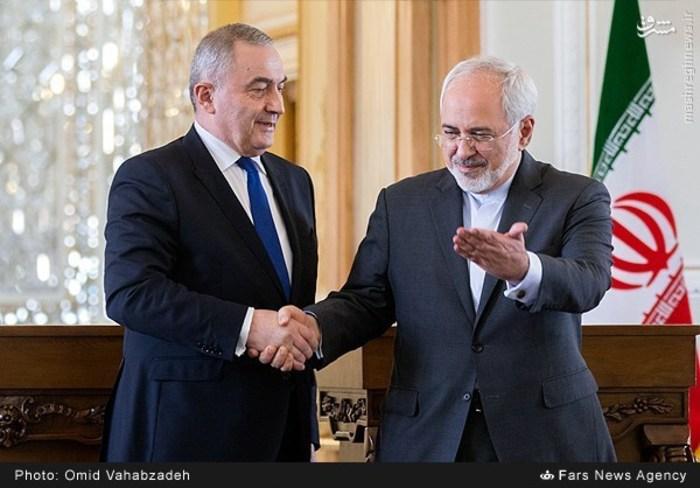 resized 1504155 233 عکس/ دیدار وزرای خارجه ایران و همچنین رومانی