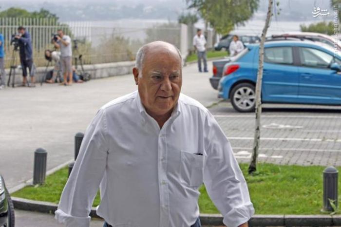 آمانسیو اورتگا، مؤسس شرکت ایندیتکس و مالک فروشگاه های زارا با   ۶۷ میلیارد دلار ثروت دومین فرد ثروتمند جهان و ثروتمندترین فرد در اسپانیا معرفی شده است.