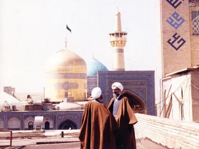 مرحوم آیت الله عباس واعظ طبسی در گفتگو با شهید قدوسی