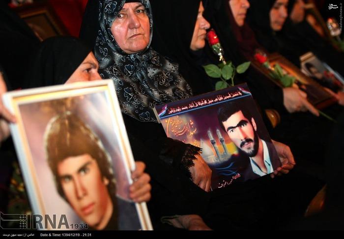 resized 1517285 223 عکس/ نکوداشت مادران و همچنین همسران شهدای گلستان