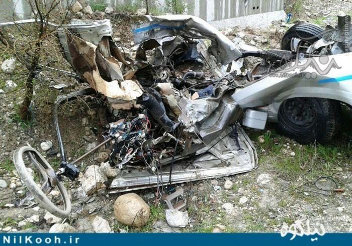عکس تصادف مرگبار عکس تصادف دلخراش عکس تصادف پارک ملی گلستان اخبار گلستان