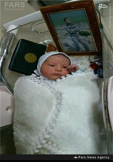 فرزند شهید مصطفی شیخ ال ی