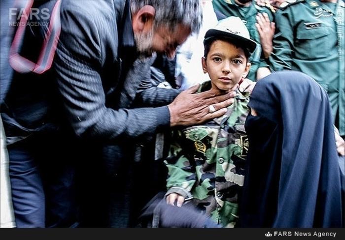 فرزند شهید مسلم خیزاب