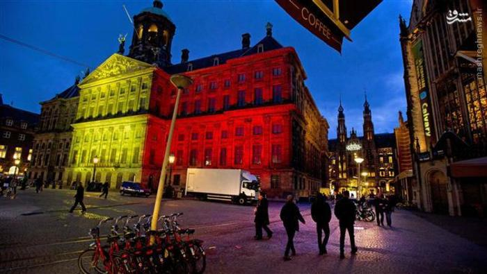 کاخ آمستردام هلند