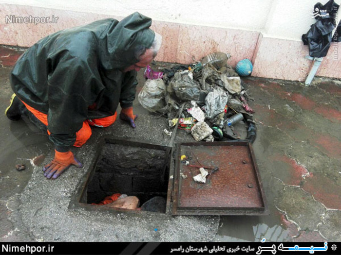 کارگر شهرداری فداکاری عکس زیبا پر لایک ترین عکس بهترین عکس