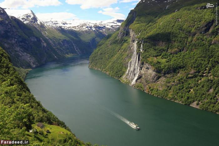 رتبه ششم ثروتمندترین: نروژ درآمد سرانه: 68000 دلار نروژ دارای بزرگترین صندوق های ثروت ملی در جهان است. بسیاری از رشد اقتصادی نروژ به دلیل وفور منابع طبیعی است مانند اکتشاف و تولید نفت، برق آبی و شیلات. با جمعیت بیش از پنج میلیون، این کشور دارای استاندارد بسیار بالای زندگی در مقایسه با سایر کشورهای اروپایی است و سیستم رفاهی کاملی دارد