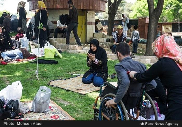 resized 1549002 484 عکس/ مراسم عیدانه معلولان