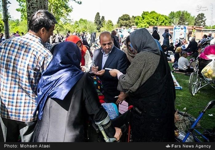 resized 1549005 185 عکس/ مراسم عیدانه معلولان