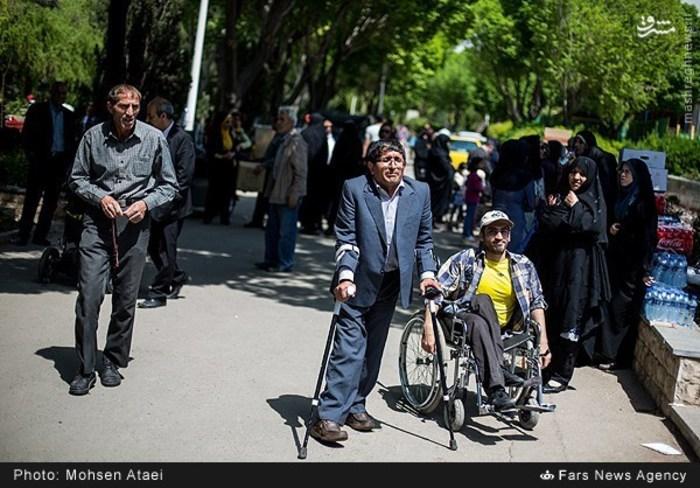 resized 1549009 540 عکس/ مراسم عیدانه معلولان