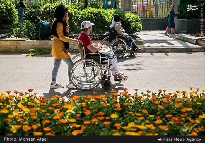 resized 1549013 965 عکس/ مراسم عیدانه معلولان