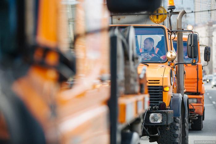مکانیزاسیون عکس مسکو شهرداری مسکو اخبار روسیه