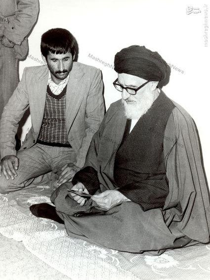 آیت الله طالقانی در منزل مرحوم حجت الاسلام سید احمد خمینی در قم