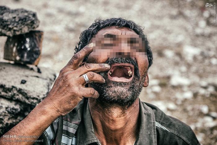 زن معتاد دریاچه هامون دختر معتاد اعتیاد شیشه اعتیاد زنان ازدواج با معتاد اخبار زابل