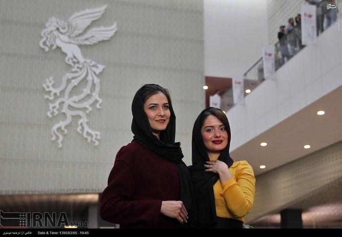 لباس بازیگران زن حجاب بازیگران جشنواره جهانی فیلم فجر پردیس چارسو