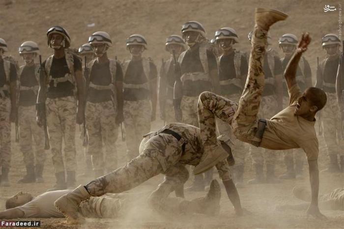 مرکز آموزش نیروهای ویژه ارتش سعودی در پادگانی در ریاض