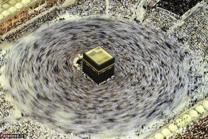 طواف خانه خدا در ماه مبارک رمضان