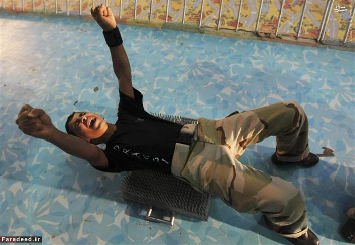 نوجوان 16 ساله ساکن ریاض در یک مرکز آموزش هنرهای رزمی در این شهر