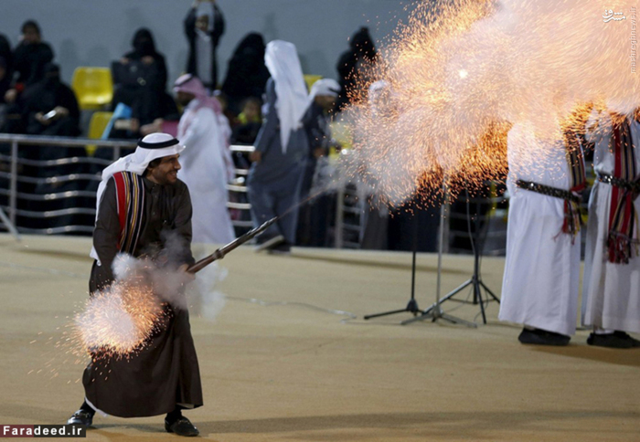 آتشبازی در فستیوال سالانه
