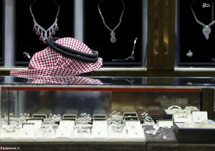 طلا و جواهری در بازار قدیم ریاض