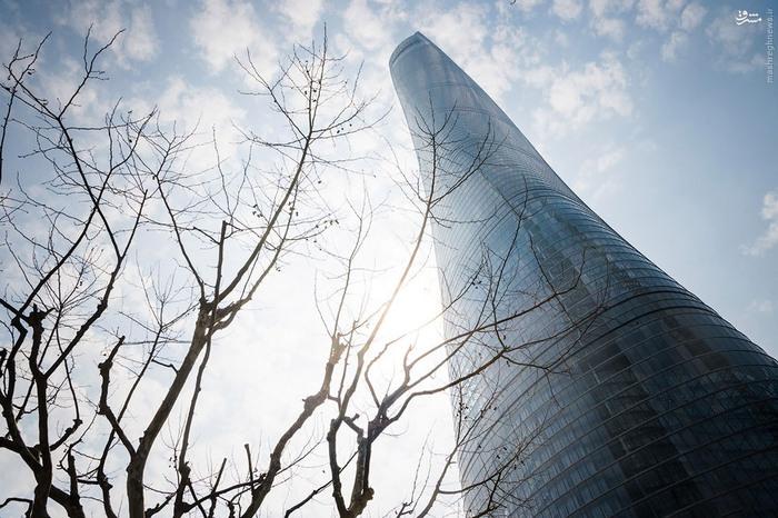 عکس شانگهای عکس چین زیباترین برج جهان توریستی شانگهای توریستی چین برج شانگهای چین Shanghai Tower