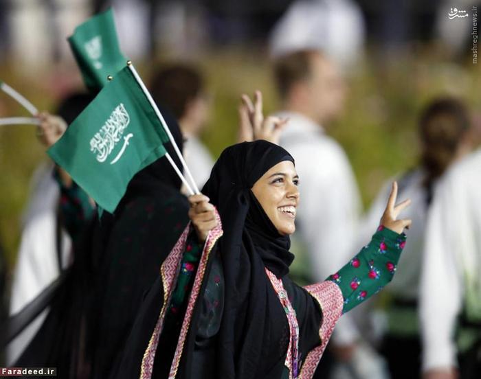 زنان عضو کاروان اعزامی از عربستان به مسابقات المپیک لندن