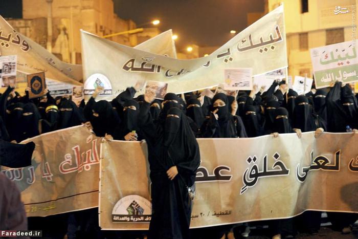 زنان شیعه در راهپیمایی علیه فیلم ضد اسلامی ساخته شده در امریکا