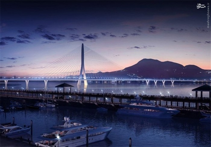 «دانجیانگ بریج» (Danjiang Bridge) در «تایپه،» پایتخت تایوان