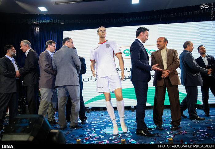 عکس/ مراسم رونمایی از پیراهن تیم ملی فوتبال