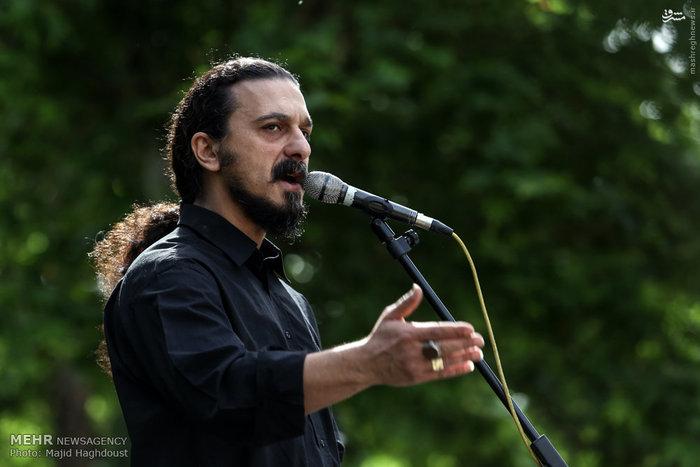 تشییع پیکر شاهرخ پورمیامین (نوازنده موسیقی پاپ)