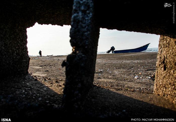 resized 1614935 612 عکس/ ساحل بندر انزلی
